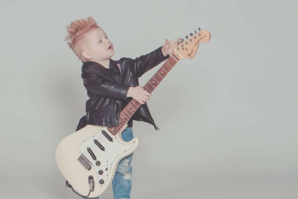 Buying an electric guitar for a kid