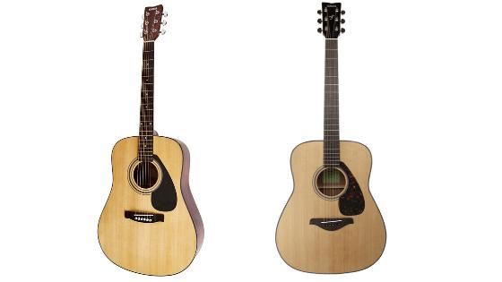 YAMAHA FD01S VS FG800