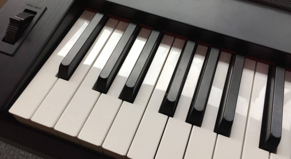 Piano Keyboards with Weighted Keys