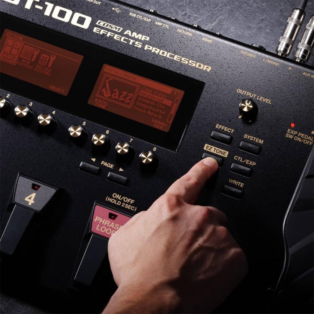 BOSS GT-1 Vs GT-100
