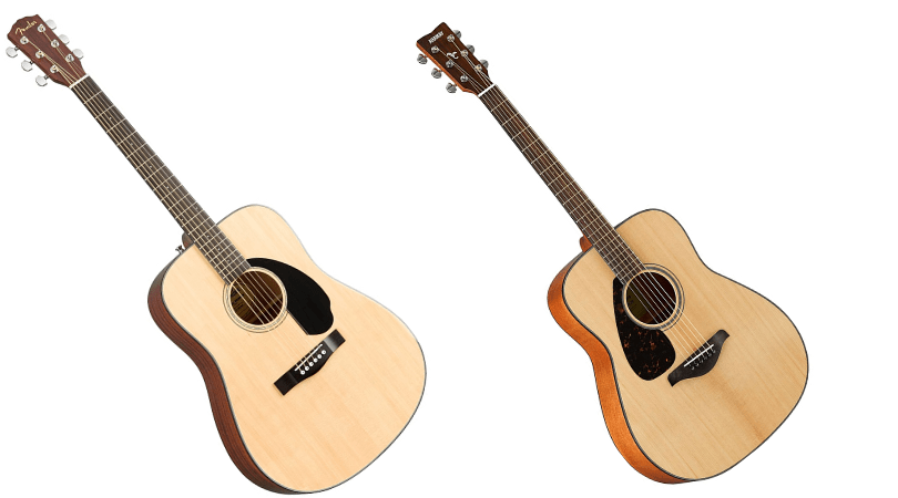 Fender CD-60S Vs Yamaha FG800
