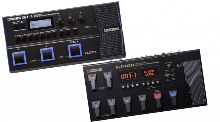 BOSS GT-1 Vs GT-100 – Which One is Better & Why?