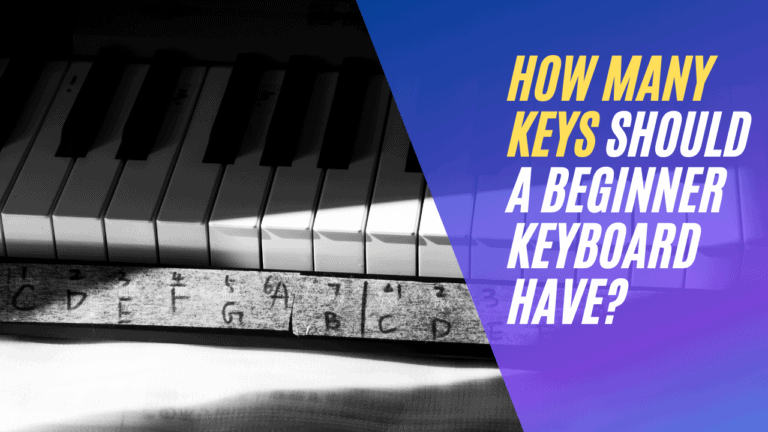 How Many Keys Should a Beginner Keyboard Have?