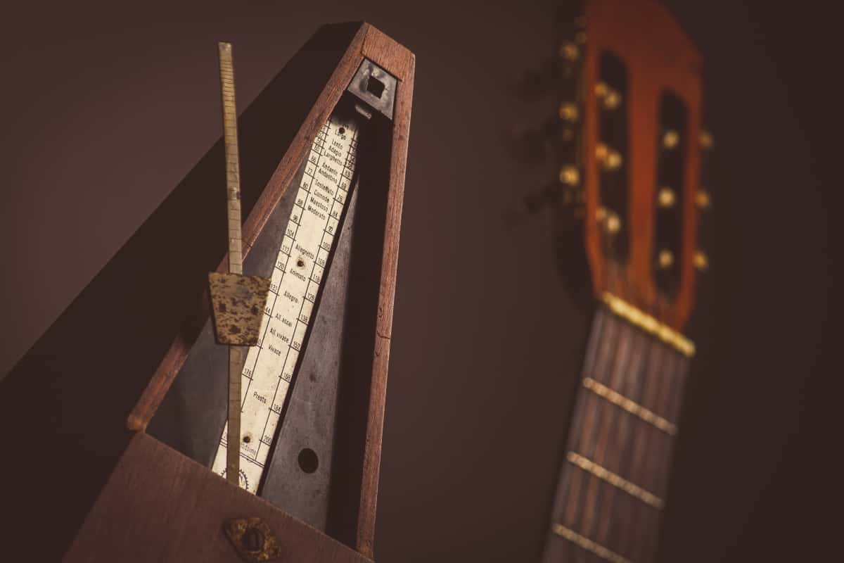 Guitar and a Metronome