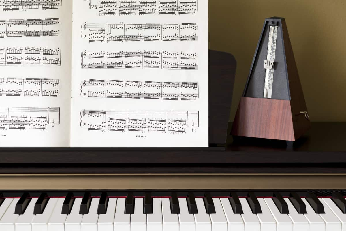 piano and Metronome