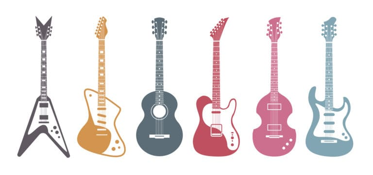 What Your Choice of Guitar Style Could Say About You