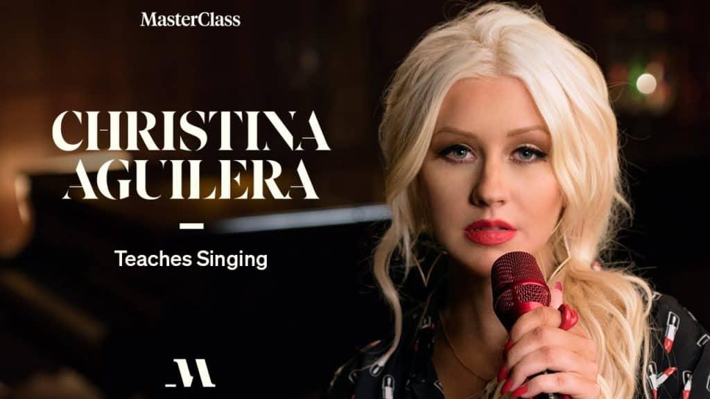 Christina Aguilera's Masterclass