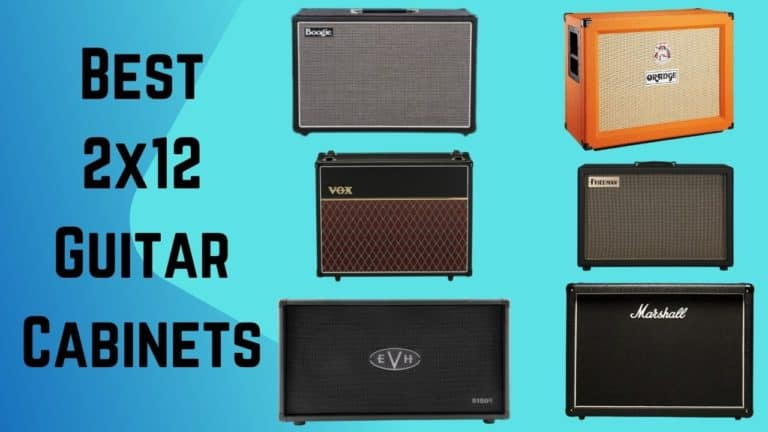 7 Best 2×12 Guitar Cabinets in 2021 + Buyer Guide
