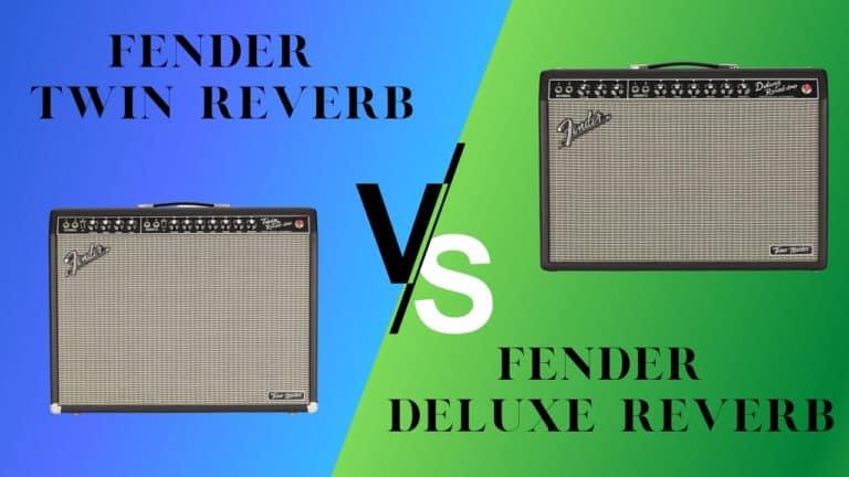 Fender Twin Reverb vs Deluxe Reverb: The Guitar Amp Shootout