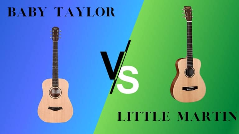 Baby Taylor vs. Little Martin (LX1) – Compared, Reviewed, and Rated